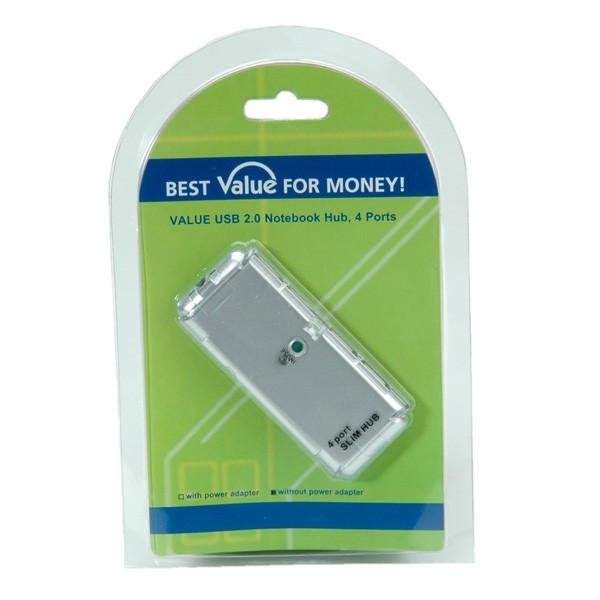 Value USB 2.0 Hub 4-poorts