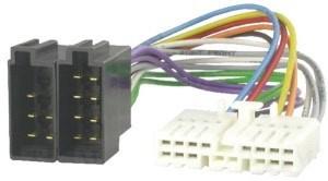 ISO kabel voor HONDA (44.5x11mm) autoradio