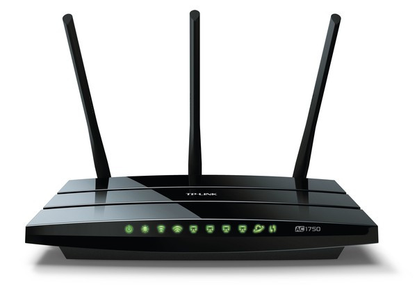 TP-Link ARCHER C7 AC1750 Draadloze gigabit dual band Router 10/100/1000Mbps