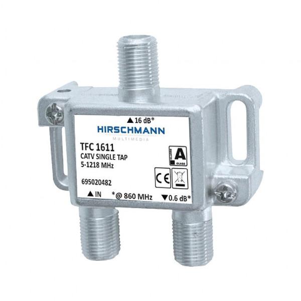 Hirschmann enkelvoudig TFC 1611 aftakelement 16 dB