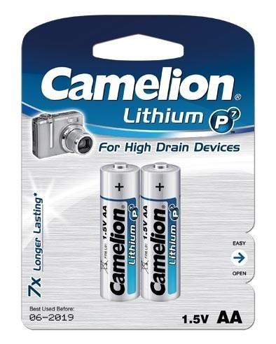 Camelion Lithium AA - 1.5V batterij (2stuks)