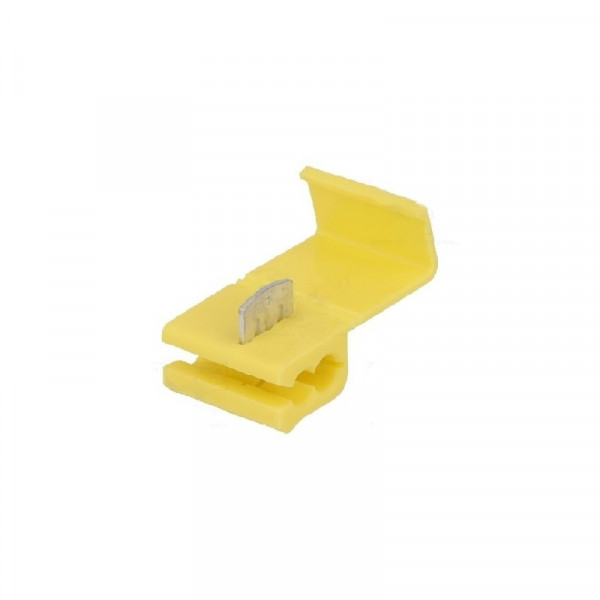 Snel connector kabeldiefje 4-6mm2 Geel