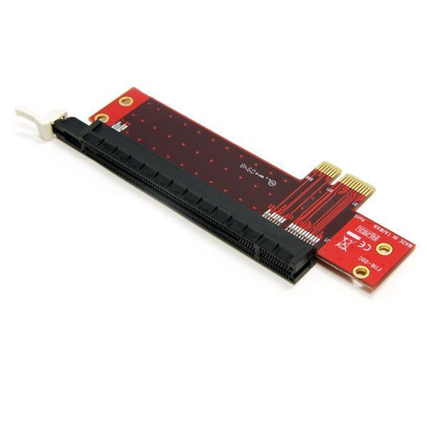 StarTech PCI Express X1 naar X16 Low-Profile Slotverlenging Adapter