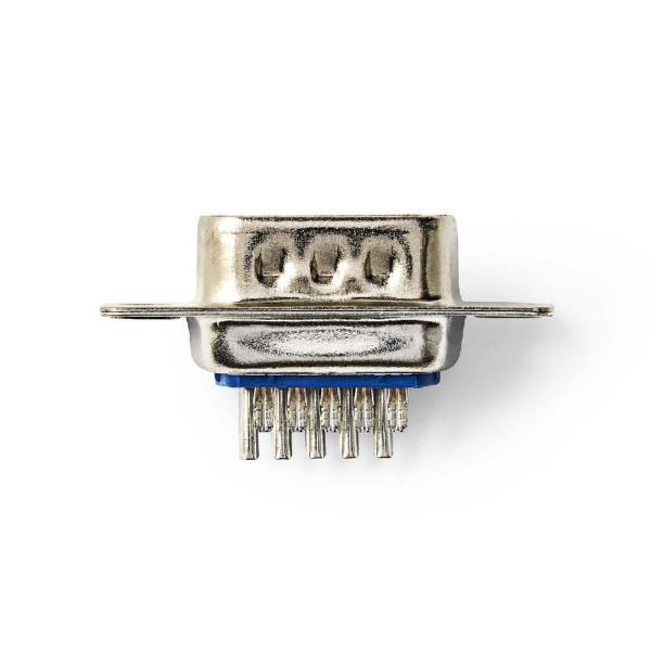 Soldeerbare VGA stekker 15pins Male
