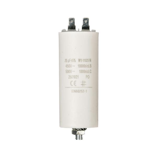 Condensator 25uf/ 450 v + Aarde