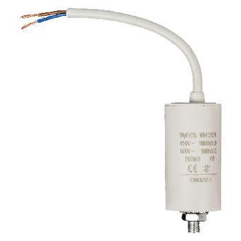 Condensator 10.0uf / 450 V + cable