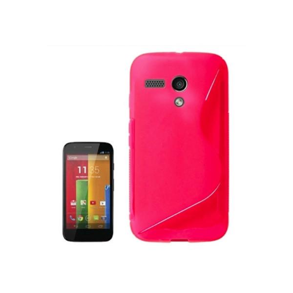 TPU Case voor Motorola Moto G Rood