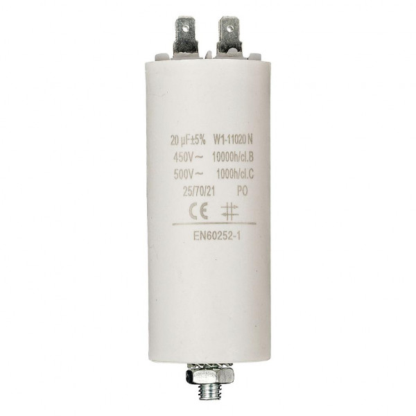 Condensator 20,0uf / 450 v + aarde