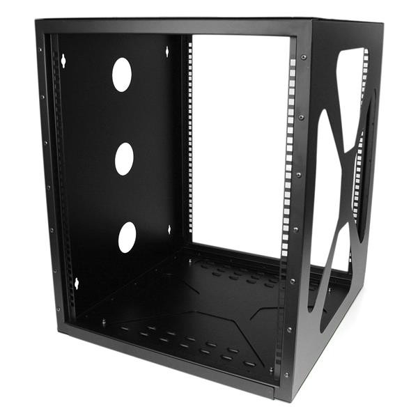 StarTech 12U Serverkast rack met zijwaartse wandmontage