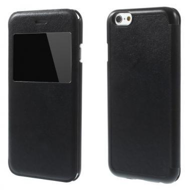 Boek Case Zwart voor iPhone 6/6S