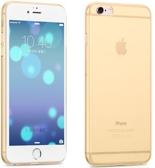 Hoco Dunne PC case voor iPhone 6/6S Goud