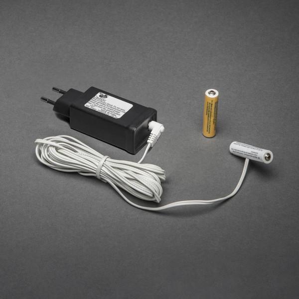 230V - 2x AAA Adapter voor batterijartikelen