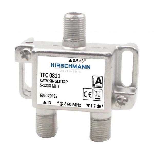 Hirschmann TFC 0811 enkelvoudig CAI aftakelement 8,5 dB