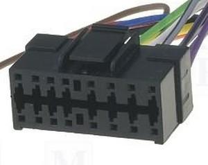 ISO kabel voor CLARION (30x12mm) autoradio