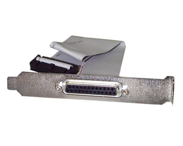 StarTech 40 cm DB25 parallelle vrouwelijke naar IDC 25-polige headersleufplaat