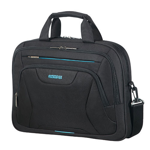 "American Tourister Schoudertas At Work 15,6"" Zwart"