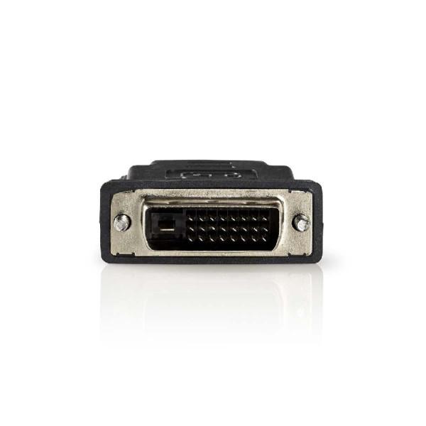 HDMI vrouwelijk - DVI-D (24+1) mannelijk adapter verguld