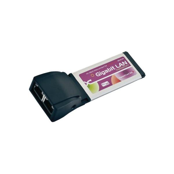 ExpressCard naar 1x Gigabit LAN Poort