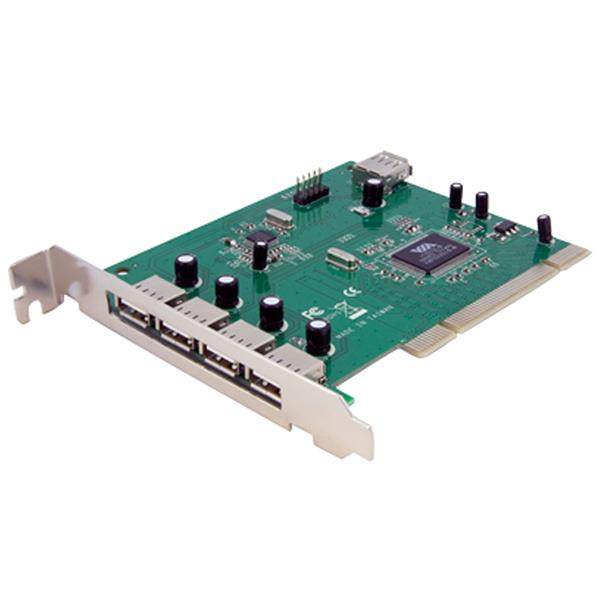 StarTech 7-poort PCI USB Adapter