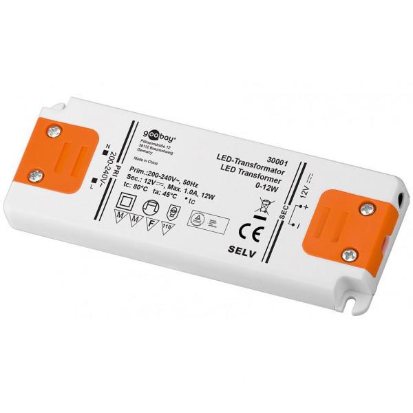 LED Transformator - 12 volt - 12 watt
