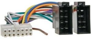 ISO kabel voor KENWOOD (28.5x7.5mm) autoradio