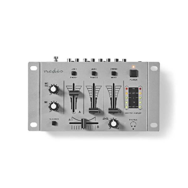 DJ-Mixer 3-Kanaals