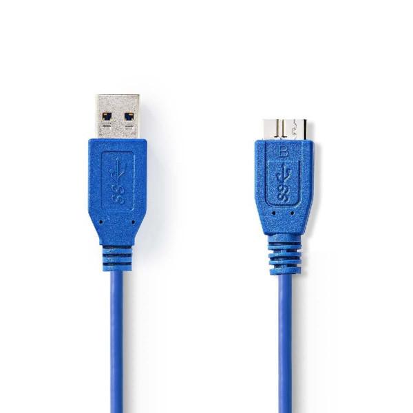 USB 3.0 A - micro B Aansluitkabel 50cm