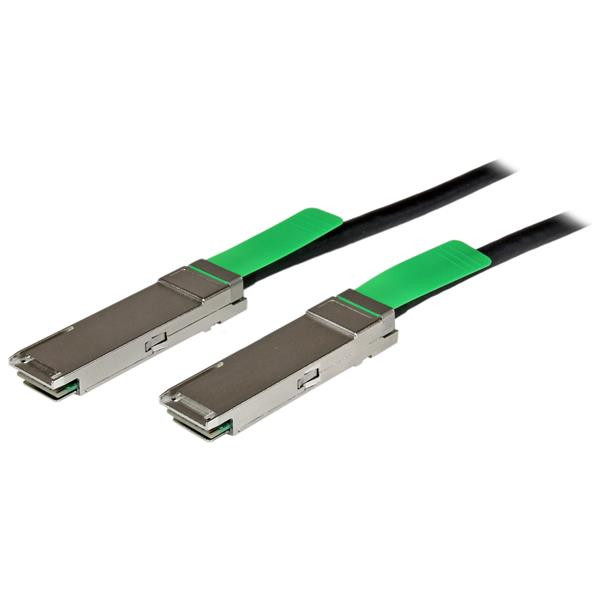 StarTech 2 m QSFP+ 40- gigabit Ethernet (40 GbE) passieve koperen Twinax direct aansluitbare kabel