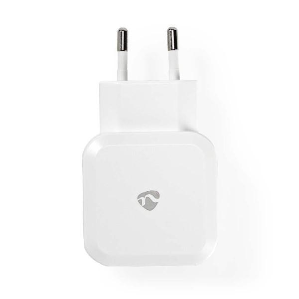 Lader 2 - Uitgangen 4.8 A 2x USB Wit