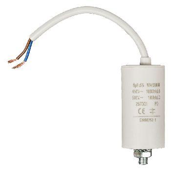 Condensator 8.0uf / 450 V + cable