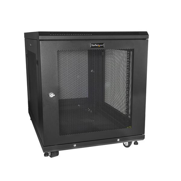 "StarTech Serverkast - 78 cm (31"") diep rack behuizing - netwerkkast - 12U"