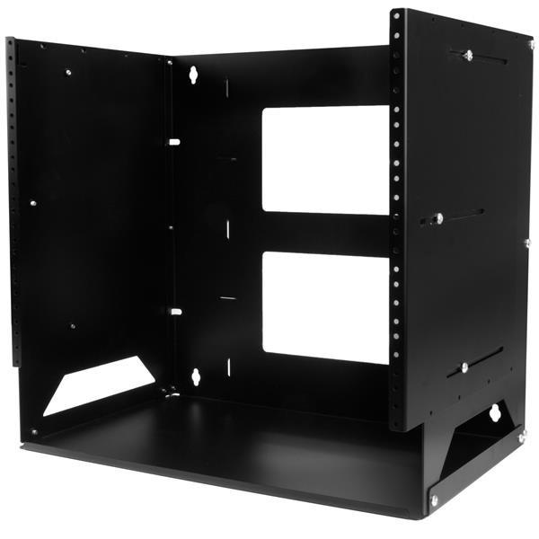 StarTech Wand monteerbaar server rack - ingebouwd schap - wandkast - massief staal - 8U