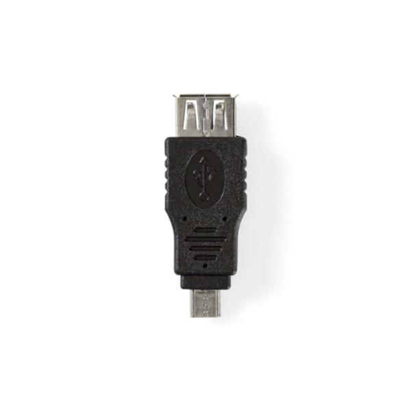 USB Micro B mannelijk - USB A vrouwelijk Adapter