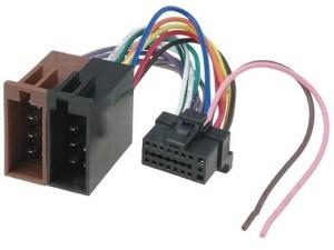 ISO kabel voor SONY (22x10.5mm) autoradio