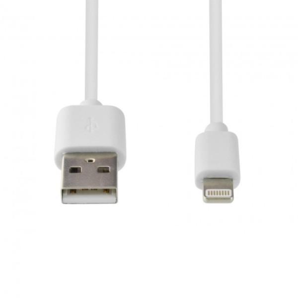 Lightning USB laadkabel (non MFI) 1m Wit