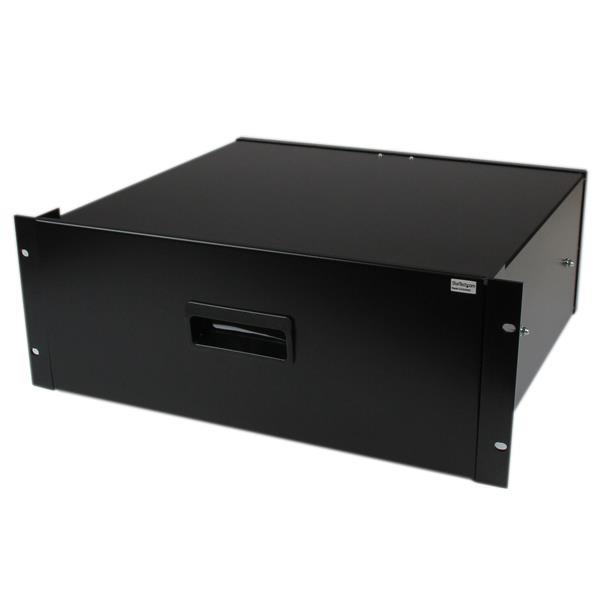 StarTech 4U Opberglade voor 19 inch Serverracks Serverkasten Zwart Staal