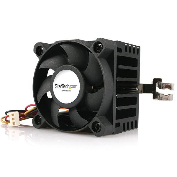StarTech 50x50x41mm Socket 7/370 CPU Koeler Ventilator met Heatsink en TX3 & LP4