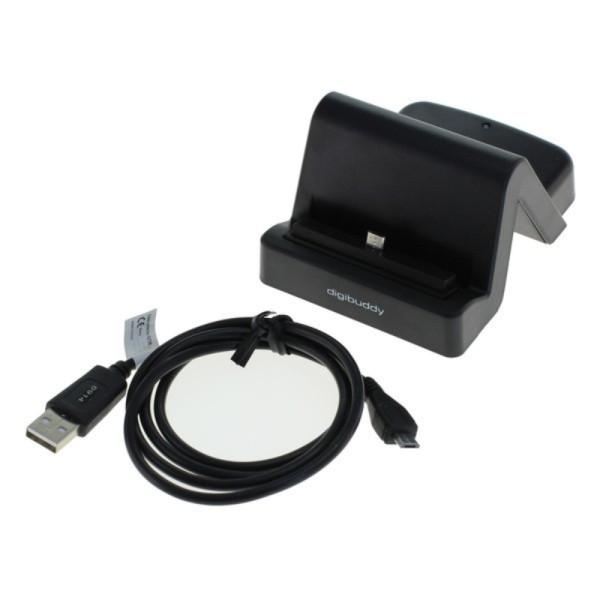 Micro USB 2.0 Dockingstation Zwart