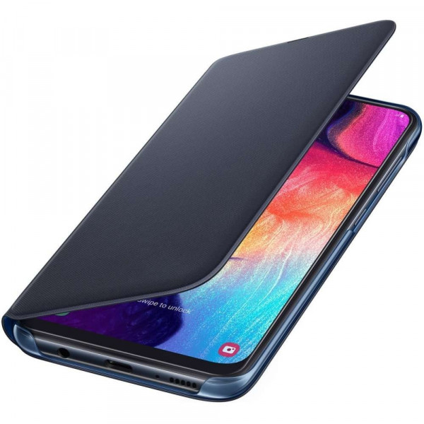 Samsung Galaxy A50 Wallet Cover (Zwart)