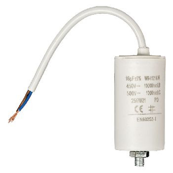 Condensator 16.0uf / 450 V + cable