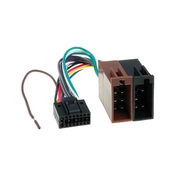 ISO kabel voor KENWOOD, JVC(22x9.5mm) autoradio