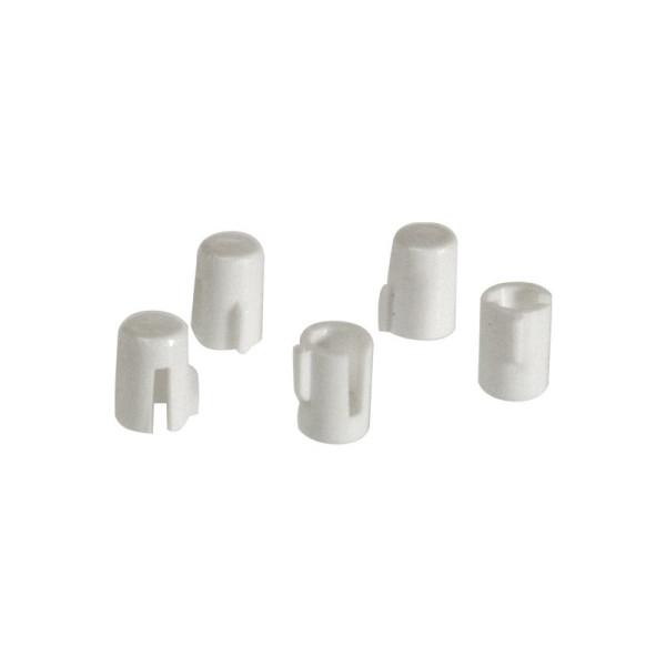 OPUS Adapter voor Draaidimmer knop 5 stuks Wit