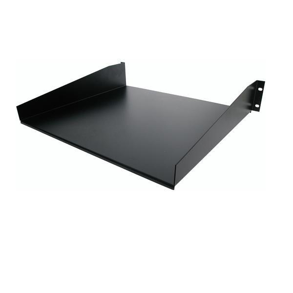 StarTech Standaard Universele Plank Serverrack Zwart