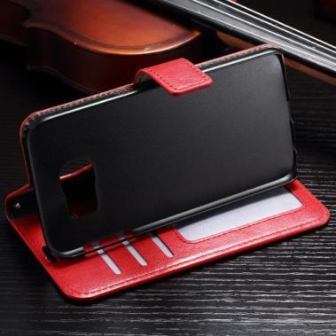 Boek Case Rood voor Samsung Galaxy S7