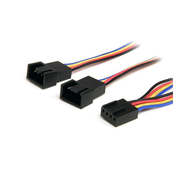 StarTech 30cm 4-pins Splitterkabel Y-adapter voor Ventilatorvoeding - F/M