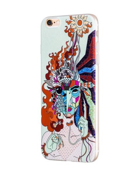 Hoco Mythology Firebird case voor iPhone 6 Plus/6S Plus Wit
