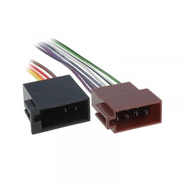 ISO kabel voor autoradio met open einde