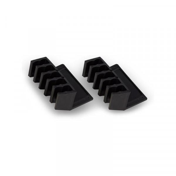 Ewent EW1565 Desktop kabelmanager, 2x zwart