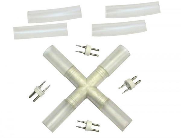 X-connector voor Halotron & LEDtron lichtslang serie 13mm