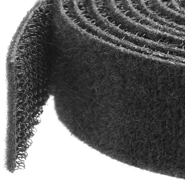 StarTech Klittenband kabelbinder - 15 m rol - zwart